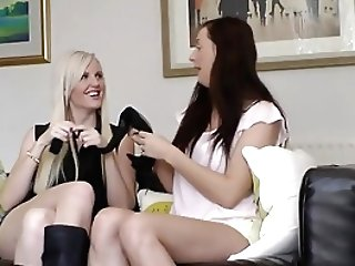 Nylon Obsession Matures Licks Honeys Fuckbox