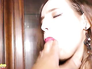Pervy Dude Fucks Hard Trampy Chick In Stockings Charlize Tinkerbell