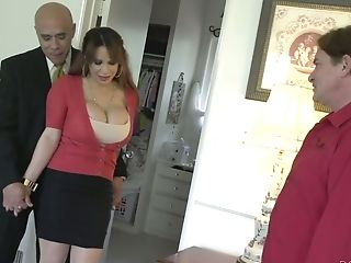Non-traditional Hubby Permits His Friend To Fuck Huge-titted Whore...