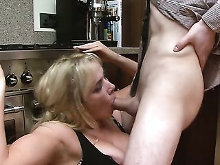 Awesome Bosomy Blondie Louis Loveheart Is Totally Into Railing Fat...