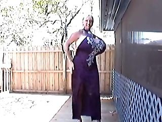 Phat Titted Cougar Maxi Mound Attempting Different Clothes