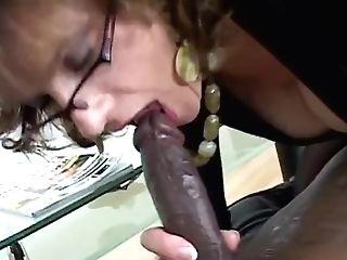 Interracial Pantyhose Lovemaking (lady Sonia)
