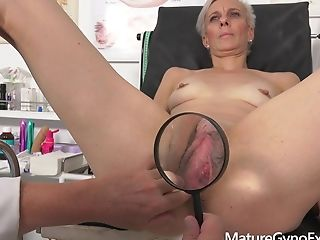 Hot Matures Cougar Belinda Bee Made To Jism By Bizarre Physician