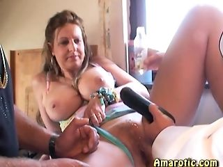 Orgy in the kitchen 1