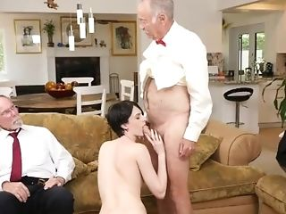 Stockings Buttfuck Group Sex Frannkie Goes Down