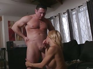 Hot Blooded Paramour Fucks Appetizing And Whorish Gash Of Alexis Fawx