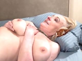 Buxom Granny Likes Dick In Her Cunt