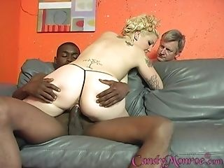 After She Masturbates With Frigs Candy Monroe Luvs Black Dick