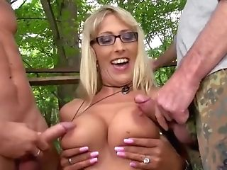 Hot Cougars Jiggles Big Tits While Making Love With Youthfull Boys