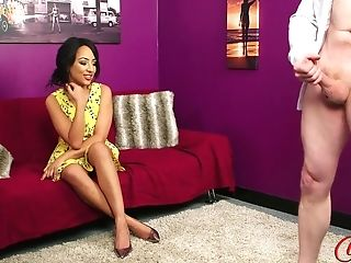 Kayla Louise And Naked Pervert With Big Dick