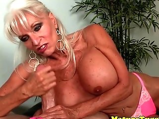 Bigboobs Matures Sucking And Tugging Trunk