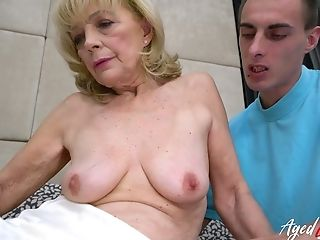Agedlove Granny Luvs Attention Of Horny Fellow