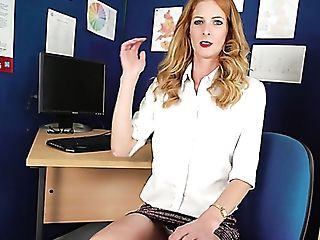 Wild And Vivid Sweetheart Pulls Her Microskirt Up And Exposes Her...