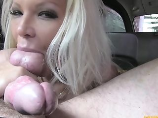 Hot Cougar Barbie Sins Got Bald Cootchie Crammed With Jism