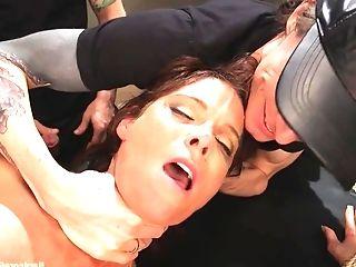 Sulty Cougar Syren De Mer Brutal Gang-fuck