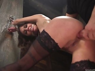 Ultra-cute Woman Kacie Castle In Stockings Fucked Nice And Lengthy...