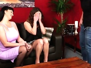 Cfnm Female Domination Mummy Abases Teenagers Bf In Trio