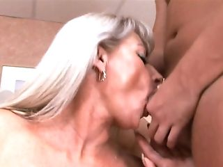 Now That's A Woman And It Takes Four Youthful Boys To Sate Her...