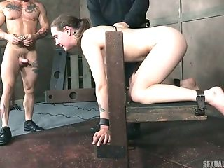 Two Studs Fucks Deep Mouth And Whorish Puss Of Tied Up Mummy Sierra...