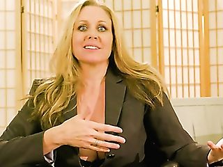 Real Legendary Pornography Actress Julia Ann In Backstage Xxx...