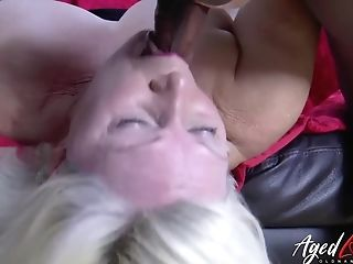 Agedlove Lacey Starr And Black Fellow Hard-core