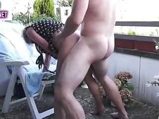 Matures Duo Balcony Fuck