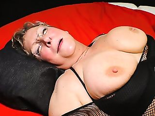 Giant Titted Matures Whore Is Ready To Be Group-fucked By Studs