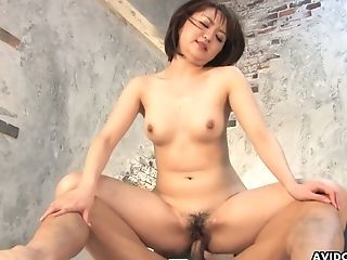 Asian Mummy Runa Kanzaki Gets Her Vagina Slammed And Creampied