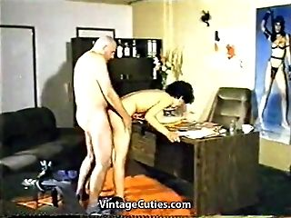 Horny Spouse gets Caught by Wifey (1970s Antique)