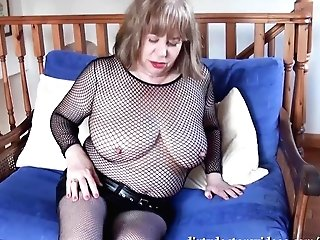 Solo In Black Fishnet