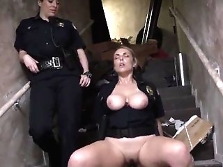 Cop Corded And Police Woman Fucked Illegal