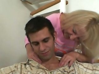 Bigcocked Man Is Drilling His Wifey's Mom Puss