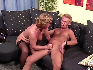 German Old Duo In First-ever Time Pornography Casting Roleplay