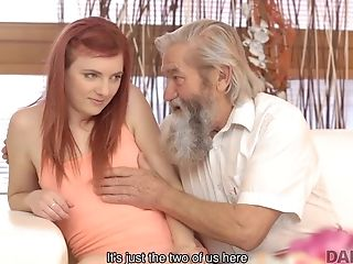 Daddy4k. Old Pervert Thrusts His Frigs Into Snatch Of...