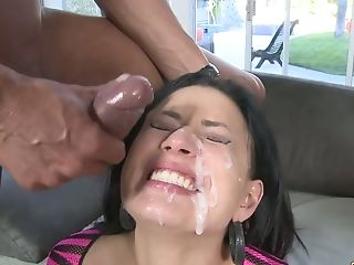Kinky Black Head Eva Angelina Rails Dick While Being Mouthfucked (fmm)