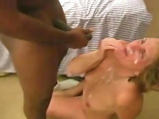 Matures Wifey Gets Immense Black Facial Cumshot