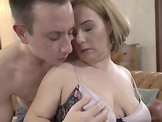 Buxom Matures Woman Inhales