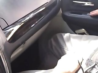 Feet Fetish Honey Taunting Her Paramour In The Car