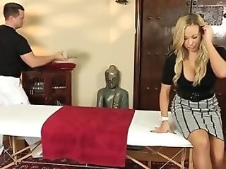 Massaged Mummy Gets Fucked
