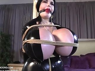 Tittanic Faux Mommy Biotch Getting Tied Up