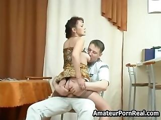 Russian Matures Mom Fucks Masturbating And Rails
