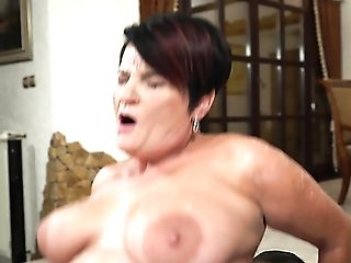 It Seems Matures Black-haired Whore Dolly Bee Is Made For Some...
