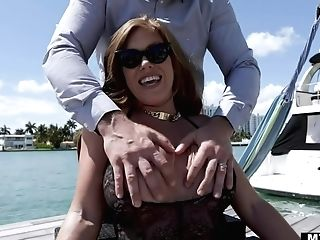 Voluptuous Woman Over 30 Ivy Secret Is Fucked By Hot Blooded Baldie