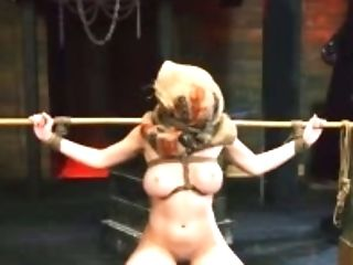 Strong Woman Lift And Carry Lovemaking Xxx Big-jugged Blondie...