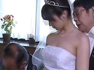 Japanese Mummy Wifey Get Stripped Clothes By Manager In Front Of...