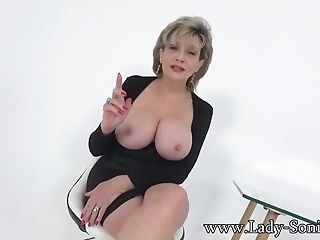 Auntie Sonia Invites You Over After Catching You Wanking