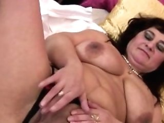 Big Titted Matures Mom Playing With Herself