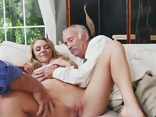 Old Man With Big Dick Fellatio Nymph And