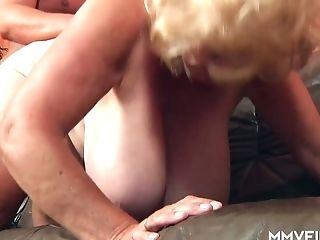 Mega Huge-titted Old Hooker Frosya Goes Wild On A Hard Dick