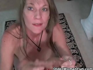 Yankee Cougar Lucky Gropes One Out On The Floor